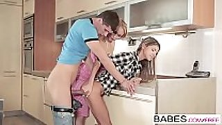 Babes - step mommy lessons - kristof cale and gin...