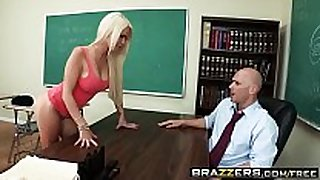 Brazzers - large bazookas at school - (alexis ford) (...