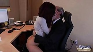 I am a juvenile secretary seducing my boss at the ...