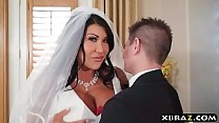 Huge milk sacks bride cheats on her wedding day with ...