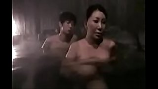 Japanese oriental mommy and son 1st time sex