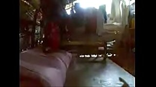 Aunty in saree fucking with neighbor uncle