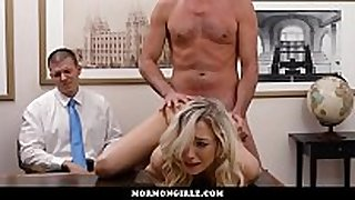 Girl drilled during the time that her cuckold boyfriend watches