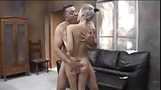 Young russian blond with old stud