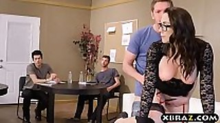 Professor group-fucked and double stuffed by her ...