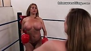 Big titty boxing vs larger love milk cans boxing