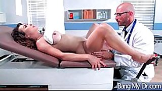 Hard style sex adventures with doctor and hawt p...
