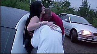 Extreme public dogging foursome with a preggy...
