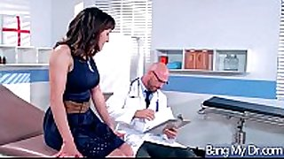 Hardcore sex action betwixt doctor and hawt wench pa...