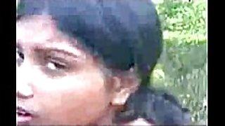 Cute bangla horny white white housewife show milk sacks at park side clear ...