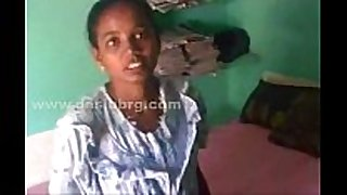 Tamil juvenile maid pointy boobs drilled by owner