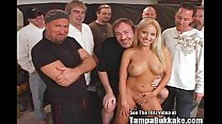 Jasmine tame sperm splatter group sex bukkake