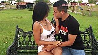 Silvia santez mexican brunnete wench fucks a stud...