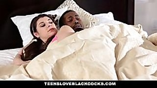Teensloveblackcocks - legal age teenager wakes up hawt step-br...