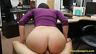 Gorgeous latin hottie babe with perfect mambos fucks fo...