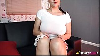 Thick british playgirl is delighted to tease with ...
