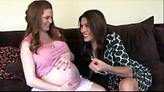 Alison morre preggy with a lustful wench
