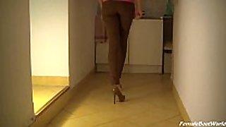 High heels and smoke