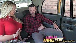 Femalefaketaxi welsh man gets a enchanting surprise