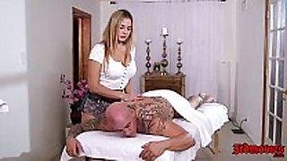 Blair williams the massage sexually lascivious slutty wife