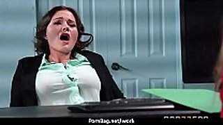 Sexy wild milf can't live without coarse sex at work 7