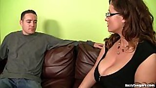 Eva notty can not live out of going after hard knob man!