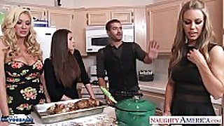 Hot angels brooklyn chase, nicole aniston and s...