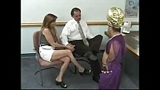 Couple receives blackmailed by a midget - that chick has t...