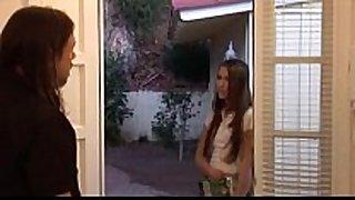Door to door sales dilettante Married slut barely legal get to watch
