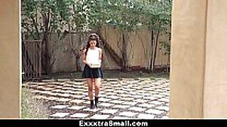 Exxxtrasmall - hawt small latin sweetheart copulates neighbour