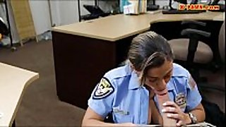 Ms police officer with large milk shakes got screwed wit...