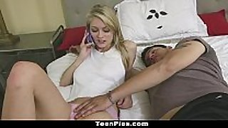 Teenpies - allie rae's step brother creampie