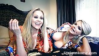 Vicky vette & julia ann's 1st ever movie scene scene?!