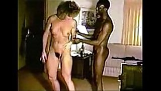Racquel using her black toy chap