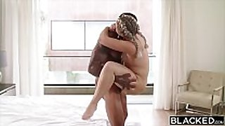 Blacked curvy golden-haired has secret sex with marrie...