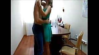 Couple office fuck on hidden webcam