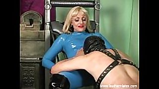 Mistress kelly latex femdom face sitting