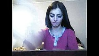Blow-job livecam show by romanian camgirl hottalicia