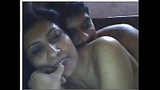Indian hotwife having fun with boyfriend on c...