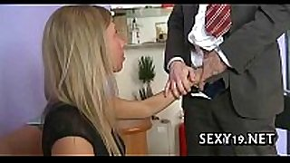 Tricky teacher seducing student