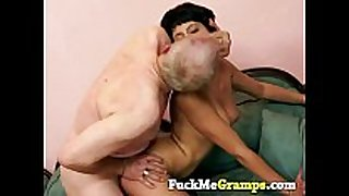 Horny old stud with chloe