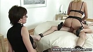 Mature stockings whore fucks
