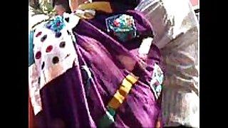 Marwadi aunt thighs