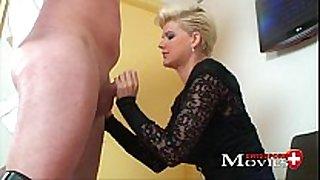 Blonde scarlet juvenile fucked by sex tool salesman
