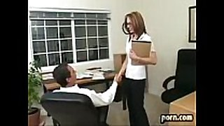 Riley shy fucks her boss