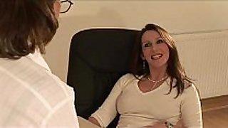 British Married slut sonia gets a spunk flow