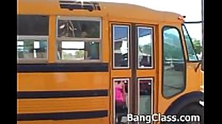 School bus driver fucking legal age teenager dilettante hotwife