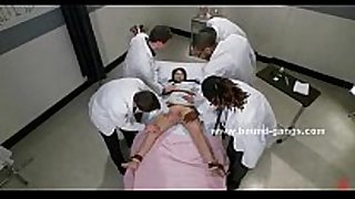Doctor and patient brutal group sex