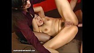 Japanese slavery sex - extreme bdsm torment ...