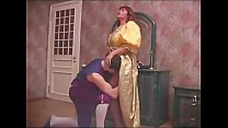 Russian mamma and son halloween sex 1